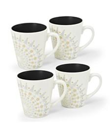 Noritake Colorwave Holiday Mugs - Set of 4