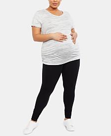 Motherhood Maternity Plus Size Leggings