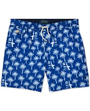 9c39555ef7 Polo Ralph Lauren Big Boys Traveler Swim Trunks