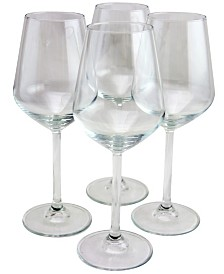 Pasabahce Allegra 4 Piece 16.5 Ounce Red Wine Glass Set