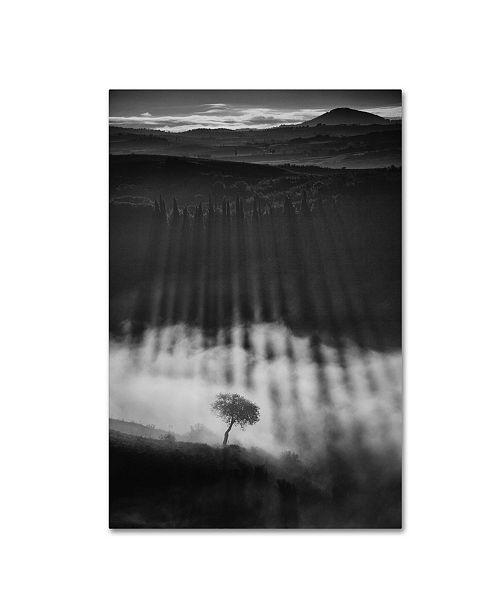 "Trademark Global Peter Svoboda 'Rising Up' Canvas Art - 32"" x 22"" x 2"""