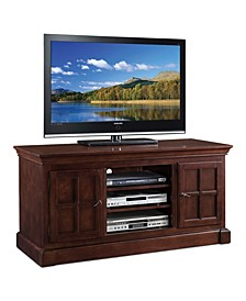 "Home Bella Maison Two Door 52"" TV Console with open Component Bay"