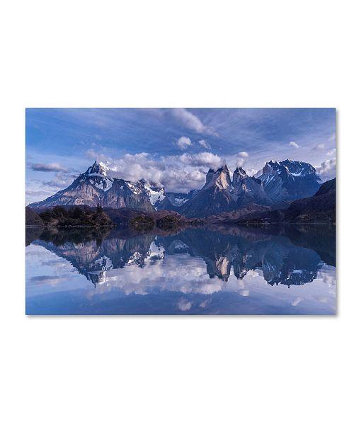 "Trademark Global Vladimir Driga 'Torres Del Paine' Canvas Art - 24"" x 16"" x 2"""