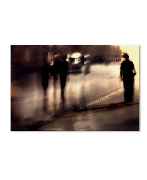 """Trademark Global Mirela Momanu 'Lost Shadows' Canvas Art - 47"""" x 30"""" x 2"""""""