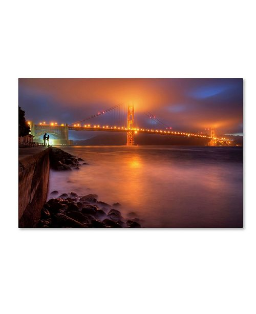 """Trademark Global William Lee 'The Place Where Romance Starts' Canvas Art - 32"""" x 22"""" x 2"""""""