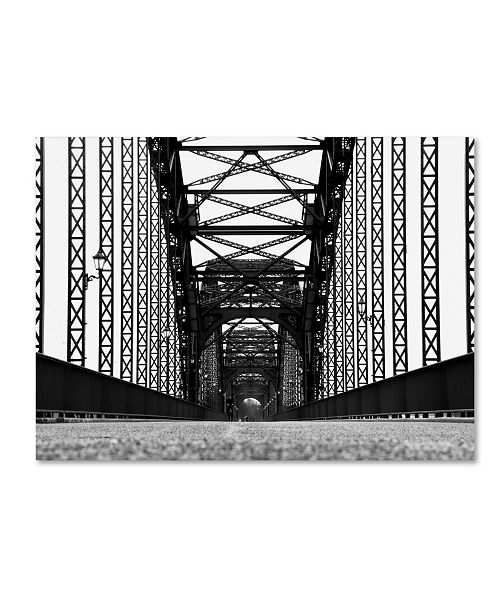 "Trademark Global Daniel Slominski 'Bridge' Canvas Art - 19"" x 14"" x 2"""