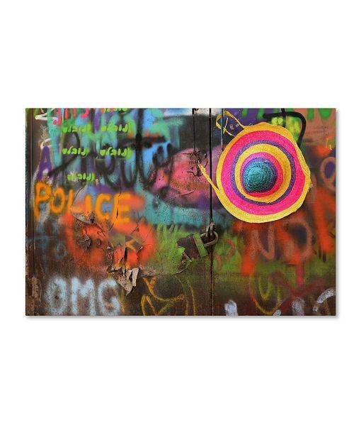 """Trademark Global Izak Katz 'Street Colors' Canvas Art - 24"""" x 16"""" x 2"""""""