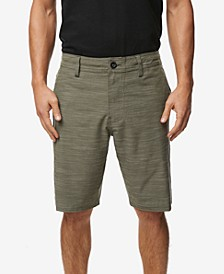 "Men's Locked Slub 20"" Hybrid Short"