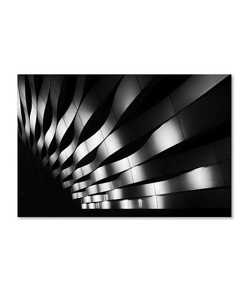"""Trademark Global Jeroen Van De 'The Joy Of Waves' Canvas Art - 19"""" x 12"""" x 2"""""""