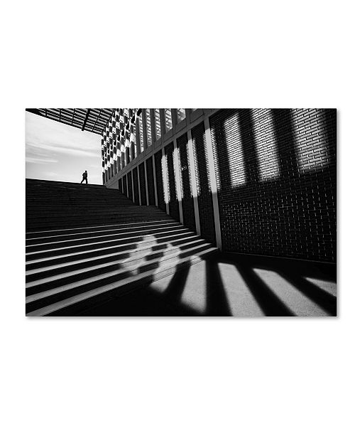 """Trademark Innovations Paulo Abrantes 'Slides By' Canvas Art - 47"""" x 30"""" x 2"""""""