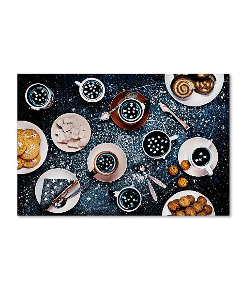 "Trademark Global Dina Belenko 'Stargazers' Canvas Art - 19"" x 12"" x 2"""