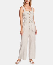 Vince Camuto Striped Jumpsuit