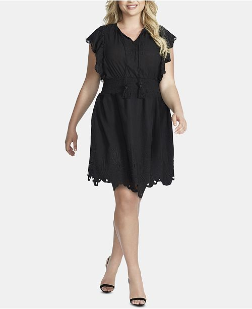 Jessica Simpson Trendy Plus Size Cotton Tummy-Control ...
