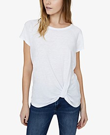 Sunny Days Twist-Front T-Shirt