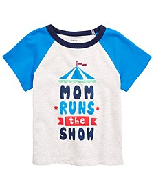 Baby Boys Graphic-Print Raglan T-Shirt, Created for Macy's