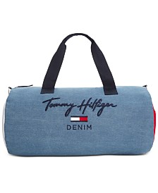 Tommy Hilfiger Men's Logo Graphic Duffel Bag, Created for Macy's