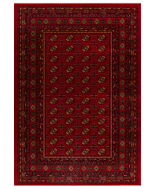 "CLOSEOUT! Kenneth Mink Area Rug, Warwick Boukara Crimson 2'3"" x 7'7"" Runner Rug"