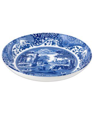Dinnerware, Blue Italian Pasta Bowl