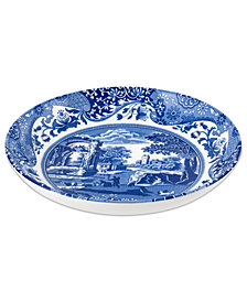 Spode Dinnerware, Blue Italian Pasta Bowl