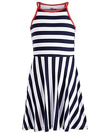 Big Girls Striped Skater Dress, Created for Macy's