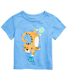 Toddler Boys Dancing Tiger T-Shirt, Created for Macy's