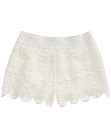 Epic Threads Big Girls Crochet-Knit Shorts, Created for Macy's