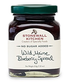 No Sugar Added Wild Maine Blueberry Spread