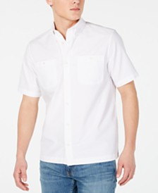 Calvin Klein Jeans Men's Iconic Utility Oxford Shirt