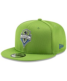 Seattle Sounders FC On Field 9FIFTY Snapback Cap