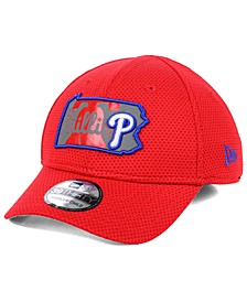 Big Boys Philadelphia Phillies State Flective 2.0 39THIRTY Stretch Fitted Cap