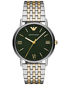 Men's Two-Tone Stainless Steel Bracelet Watch 41mm