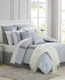 CLOSEOUT! Sterling 14-Pc. Comforter Sets, Created for Macy's