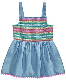 Epic Threads Big Girls Multi-Color Smocked Top, Created for Macy's