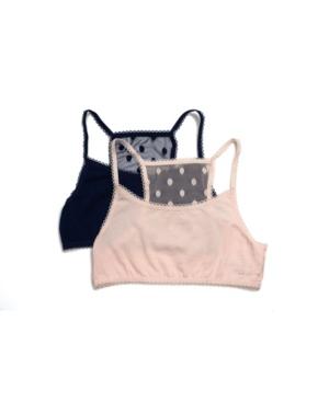 Tahari Girl 2-Pack Floral Lace Back Bra