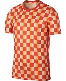 Nike Men's Academy Dri-FIT Printed Soccer Top