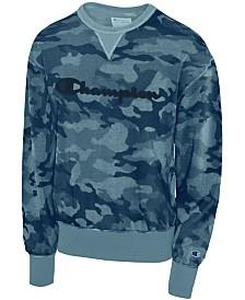 Champion Men's Camo-Print Sweatshirt