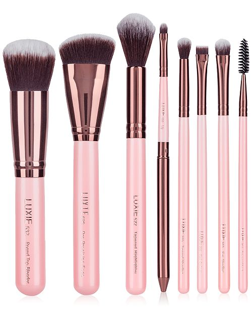 LUXIE 8-Pc. Complete Face Brush Set