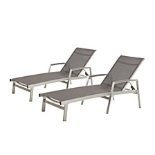Octon Outdoor Chaise Lounge (Set of 2)