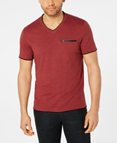 b1237abcb I.N.C. Men's V-Neck T-Shirt, Created for Macy's