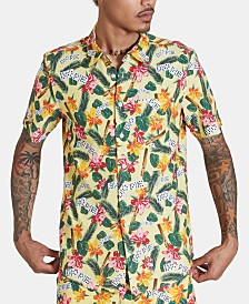 DOPE Men's Havana Floral Shirt