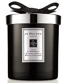 Jo Malone London Oud & Bergamot Home Candle, 7.1-oz.