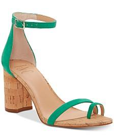 I.N.C. Women's Wanada Toe-Ring Block-Heel Sandals, Created for Macy's