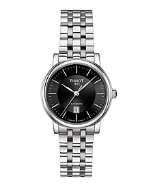 Women's Carson Premium Swiss Automatic Stainless Steel Bracelet Watch 30mm