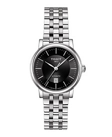 Tissot Women's Carson Premium Swiss Automatic Stainless Steel Bracelet Watch 30mm