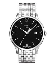 Tissot Men's Tradition Stainless Steel Bracelet Watch 42mm
