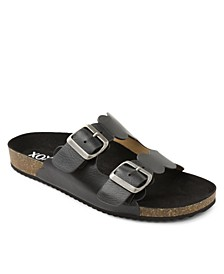 Lebanon Footbed Double Banded Sandals