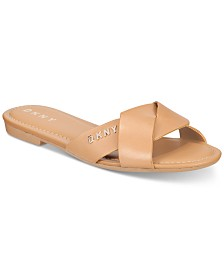 DKNY Kiara Flat Sandals, Created For Macy's