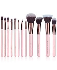 LUXIE 12-Pc. Rose Gold Makeup Brush Set