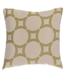 Element Jacquard Decorative Pillow