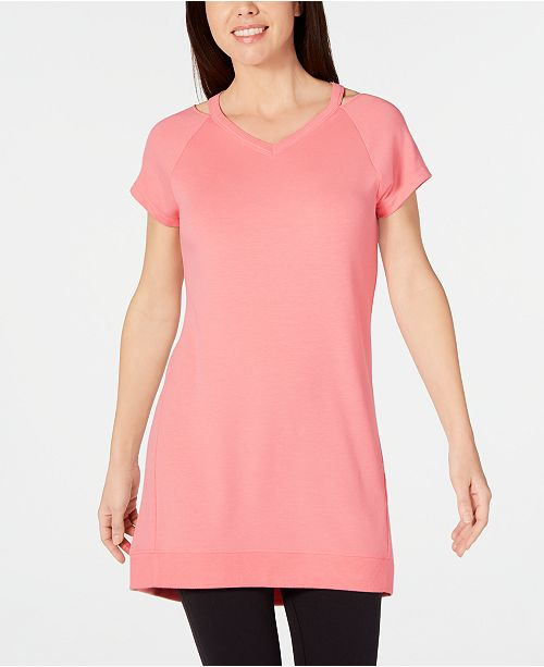 Ideology Cut-Out Tunic, Created for Macy's